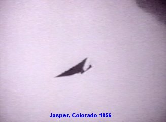 1956 ufos reported over jasper colorado