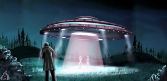 Risultati immagini per Aliens UFO landed
